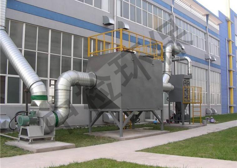 深圳某能源科技公司焊烟废气处理案例
