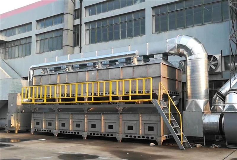 环保工程公司:废气净化系统-催化燃烧技术