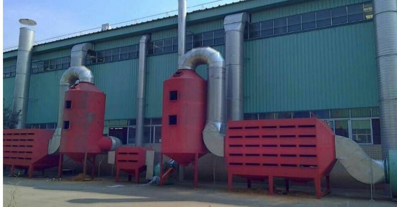 环保设备工程专业承包范围