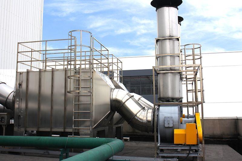 活性炭在废气处理中的应用-惠州环保工程