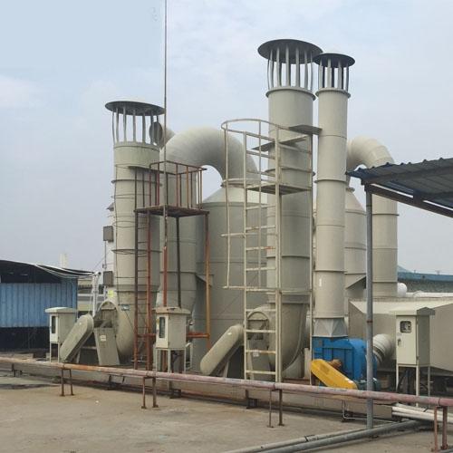 玩具厂喷涂废气处理工程案例-惠州环保工程